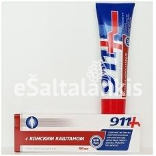 911 Gelis-balzamas kojoms su Konskim Kaštanom
