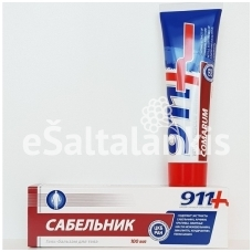 911 Gelis-balzamas kūnui Sabelnik 100ml.