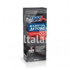 "911 Šampūnas ""DETOKS"" absorbuojantis 150 ml."