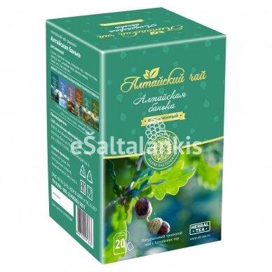 """Altajaus žolelių arbata """"ALTAJAUS PIRTELĖ"""" 20 pakelių po 2g."""