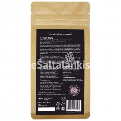 """Altajaus žolelių arbata """"STROINOST"""" 50g. 2"""