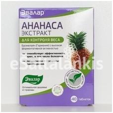 Ananaso ekstraktas 40 tab.