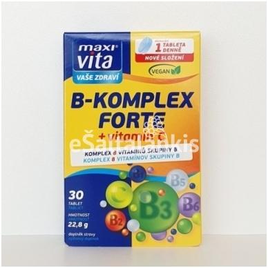 B-Complex Forte + vitamin C  30 tab.