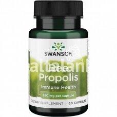"""Maisto papildas BIČIŲ PROPOLIS 550 mg. 60 kap. """"SWANSON"""""""