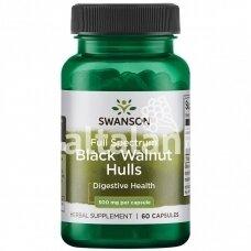 "BLACK WALNUT 500 mg. 60 kap. ""SWANSON"""