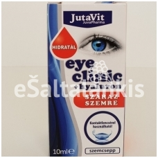 "Drėkinamieji akių lašai su hialuronu 10 ml. ""Jutavit"""
