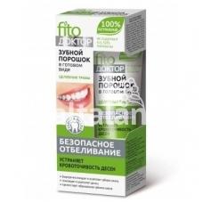 Fitokosmetik milteliai-dantų pasta gydomųjų augalų pagrindu 45ml