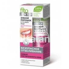 Fitokosmetik milteliai-dantų pasta jautriems dantims 45ml