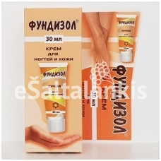 Fundizol kremas 30ml.