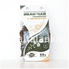 """""""IVAN-ČAI"""" fermentuoti siauralapio guaromečio lapai su šaltalankiu 50 g."""