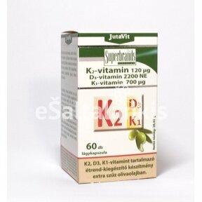 "K2 + D3 + K1 60 kap. "" JutaVit"""