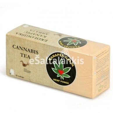 Kanapių arbata 25 vnt. pagalvėlių