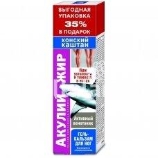 Kojų gelis-balzamas su ryklių taukais ir kaštonų ekstraktu 125 ml.