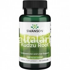"""KUDZU ROOT 500 mg. 60 kap. """"SWANSON"""""""