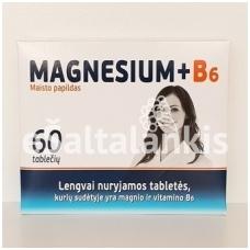 Magnesium + B6 60tab.