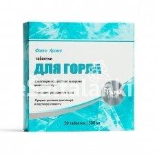 Maisto papildas Fito Aroma tabletės gerklei 50tab.