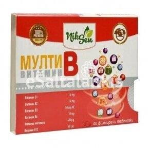 Multi B Vitaminai 40tab.