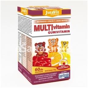 """Multivitamin guminukai 60vnt. """"JutaVit"""""""