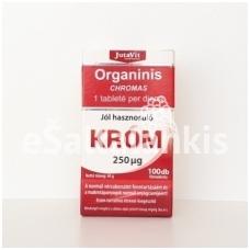 """Organinis Chromas 100 tab. """"JutaVit"""""""
