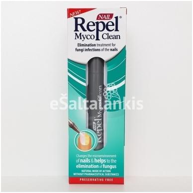 Pieštukas nuo nagų grybelio Nail Repel Myco Clean 3ml.