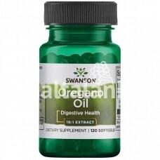 """Maisto papildas RAUDONĖLIS (OREGANO) EKSTRAKTAS 150 mg. 120 kap. """"SWANSON"""""""