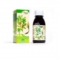 Saldymedžio šaknies sirupas su vitaminu C 100 ml.