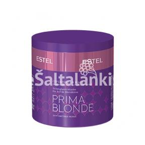 Sidabrinė kaukė šaltiems blondinių atspalviams ESTEL PRIMA BLONDE 300 ml.