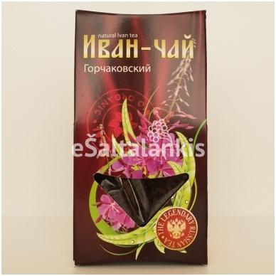 """Siauralapis gauruometis žolelių arbata 40g. (fermentuota, granuliuota) """"IVAN-ČAI"""""""