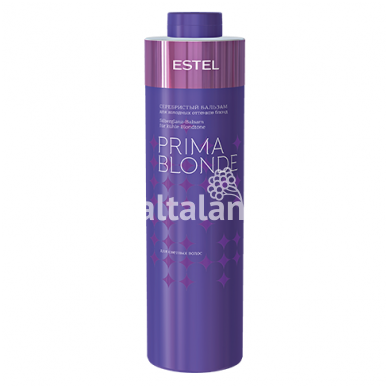 Sidabrinis šampūnas šaltiems blondinių atspalviams ESTEL PRIMA BLONDE 4