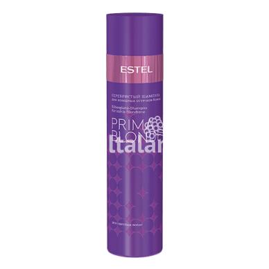 Sidabrinis šampūnas šaltiems blondinių atspalviams ESTEL PRIMA BLONDE