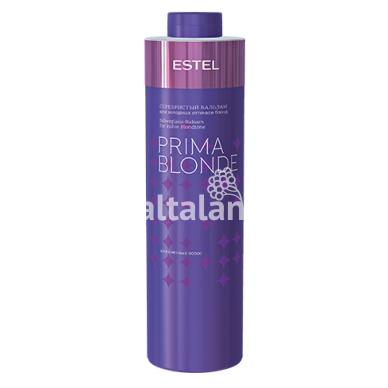 Sidabrinis balzamas šaltiems blondinių atspalviams ESTEL PRIMA BLONDE 4