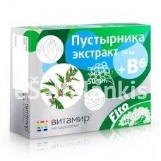 """Suktažolių ekstraktas + vitaminas B6 50 tab. """"Vitamir"""""""