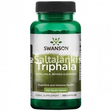 """TRIPHALA 500 mg. 100 kap. """"SWANSON"""""""