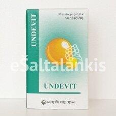 UNDEVIT  50 dražečių