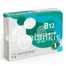 "Vitaminas B12 30 tab. ""Vitamir"""