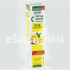 """Vitaminas C 1000 mg. 20 tirpių tab. citrinų skonio """"JutaVit"""""""