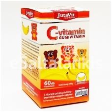 "Vitamino C guminukai 60vnt. ""JutaVit"""